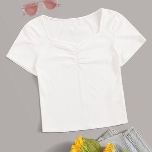 SHEIN white top